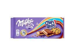 Шоколад  Milka Chips Ahoy молочный с печеньем 100 г, фото 2