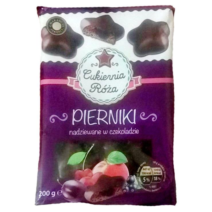 Пряники Curiernia roza Pierniki w czekoladzie 200г