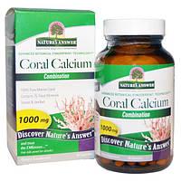 Natures Answer, Кальций из кораллов, комплекс, 1000 мг, 90 капсул