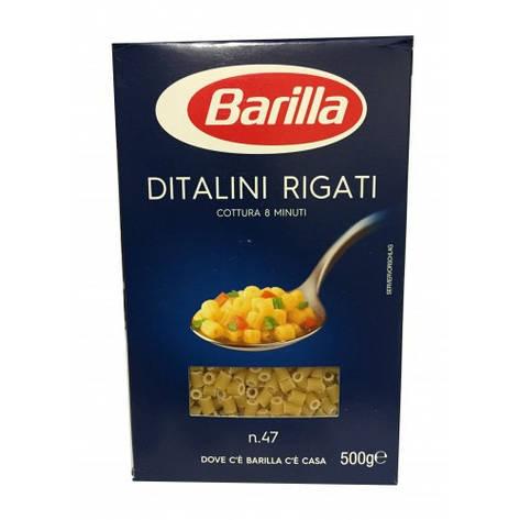 Макаронные изделия Barilla Ditalini rigati n47 500, фото 2
