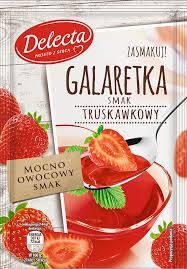Желе Delecta Galaretka Truskawkowy 75 г, фото 2