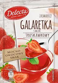 Желе Delecta Galaretka Truskawkowy 75 г