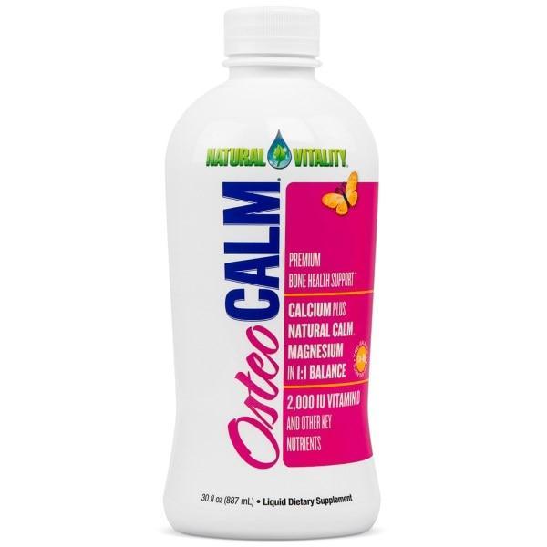 Natural Vitality, Osteo Calm, средство для поддержки костей премиум класса, 30 жидких унций (887 мл)