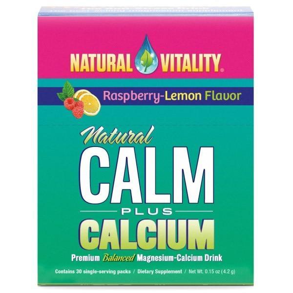Natural Vitality, Естественное спокойствие плюс кальций, 30 упаковок по 0,15 унции (4,2 г) каждая