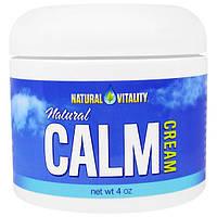 Natural Vitality, Натуральный успокаивающий крем, 4 унции
