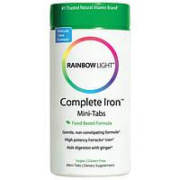Rainbow Light, Комплекс железа, мини-таблетки, 60 Мини-таблетки