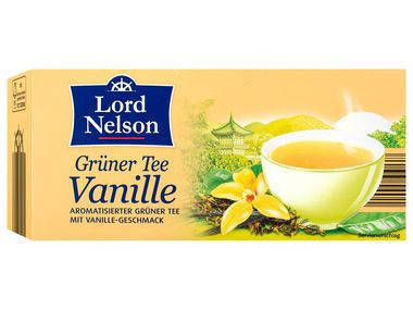 Чай Lord Nelson Gruner Tee Vanille 25 пакетов, фото 2