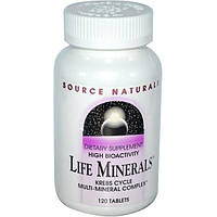Source Naturals, Микроэлементы жизни, 120 таблеток