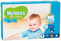 Подгузники Huggies Ultra Comfort 4 (8-14 кг) для мальчиков Giga Pack 80шт.