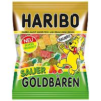 Жевательные конфеты Haribo Sauer Goldbaren 200г