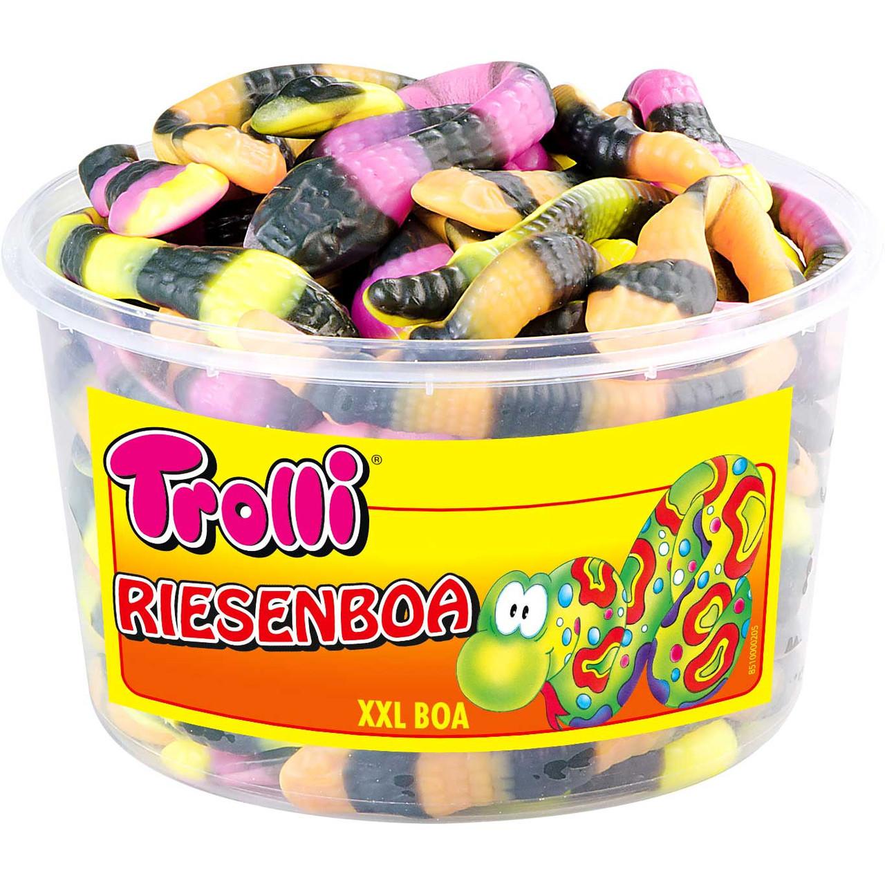Жевательные конфеты Trolli Питоны 960г