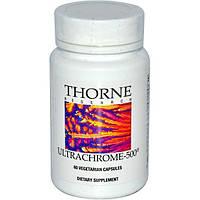 Thorne Research, UltraChrome-500, 60 капсул в растительной оболочке