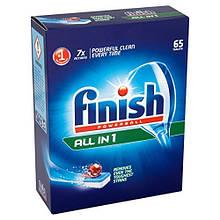 Таблетки для посудомойки  Finish  ALL IN1 65 штук