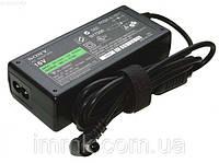 Блок питания для ноутбука SONY 16V, 4A, 65W, 6.5*4.4-PIN, black + кабель питания!