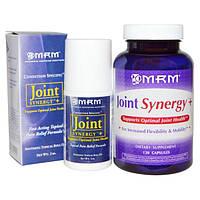 MRM, Joint Synergy + шариковый аппликатор, экономичная упаковка, 120 капсул и шариковый аппликатор на 2 унции