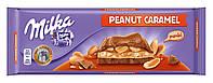 Шоколад Milka Peanut Caramel молочный арахис+карамель 276 г