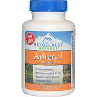 Ridge Crest Herbals, Adrenal, Fatigue Fighter, 60 Veggie Caps