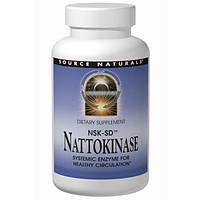 Source Naturals, Наттокиназа NSK-SD, 36 мг, 90 капсул