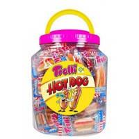 Жевательные конфеты Trolli Hot Dog 60шт 600г