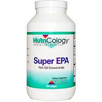 Nutricology, Супер ЭПК, концентрат рыбьего жира, 200 мягких капсул