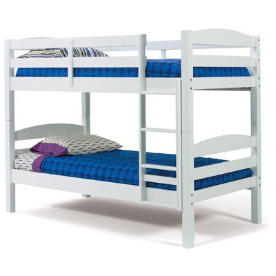 Двухярусная кровать Твайс, массив дуб, ясень, ольха