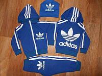 Спортивный костюм для мальчика Adidas синий