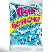 Жевательные конфеты Trolli акулы 1000г