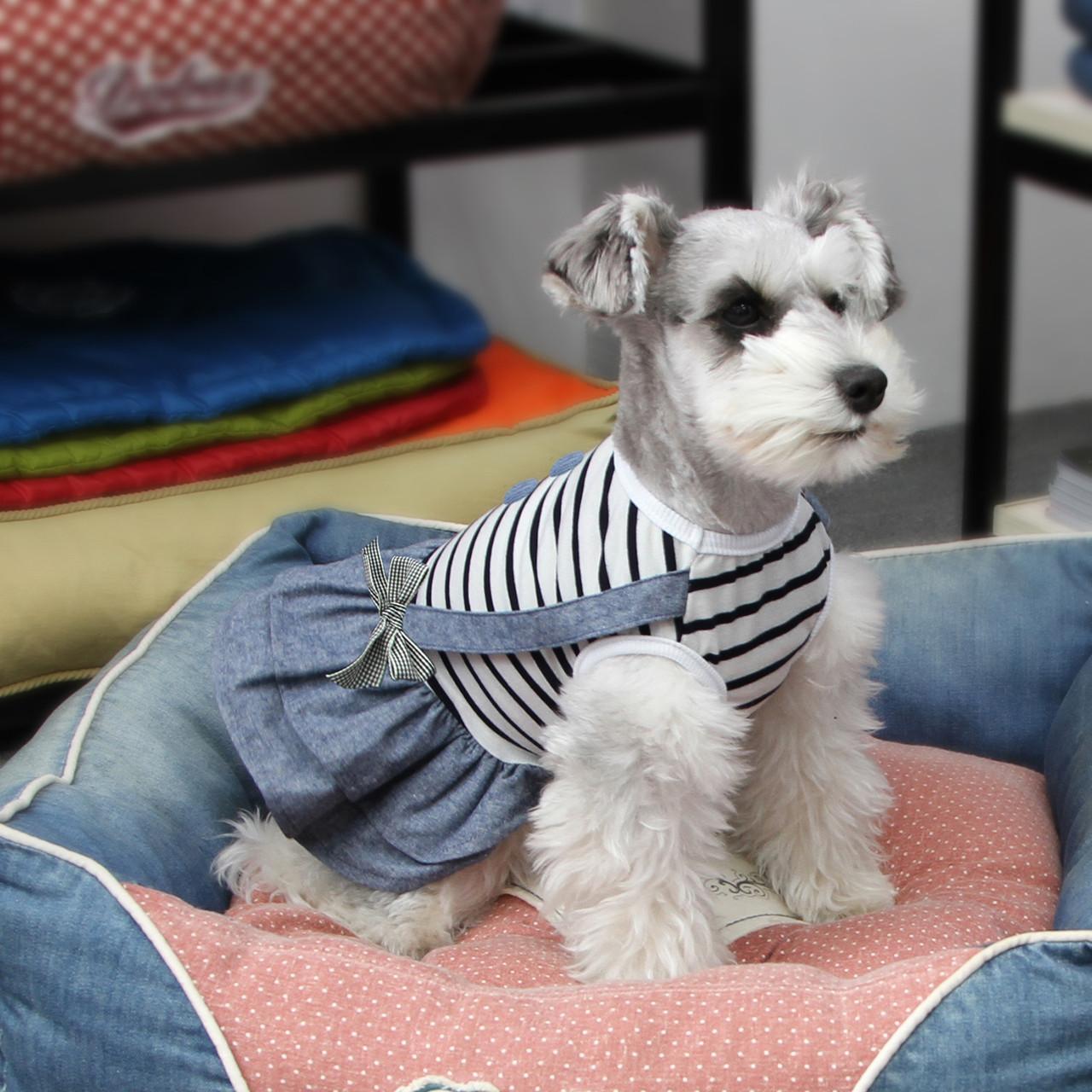Платье для собак Dobaz Добаз, Cute полоска