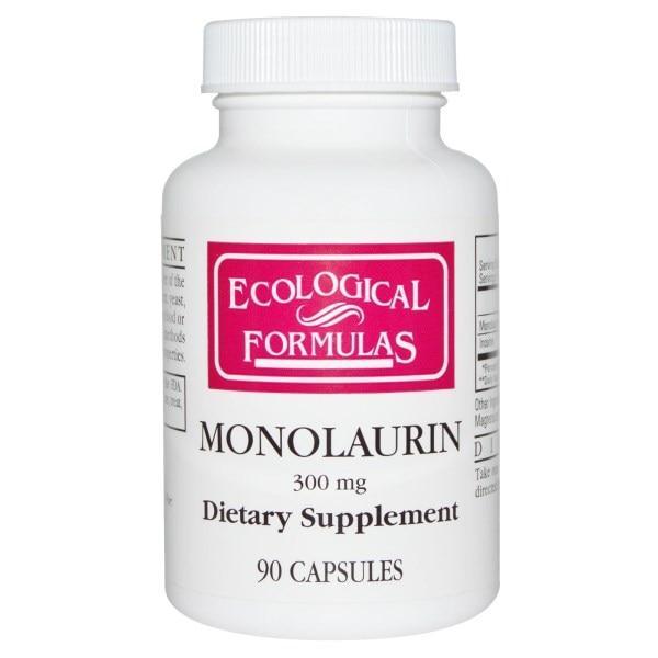 Cardiovascular Research Ltd., Монолаурин, 300 мг, 90 капсул