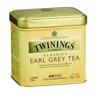 Чай листовой черный с бергамотом Twinings Earl Grey Tea 100 г