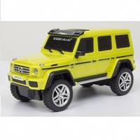 Автомодель - MERCEDES-BENZ G500 (ассорти желтый, серебристый,1:26, свет, звук, инерц.) - под заказ