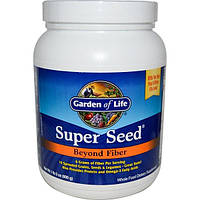 Garden of Life, Super Seed, Beyond Fiber, 620 мл (600 г)