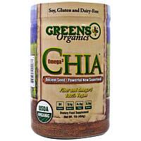 Greens Plus, Чиа,Омега-3, 1 фунт (454 г)