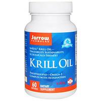 Jarrow Formulas, Крилевое масло, 60 жидких гелевых капсул