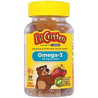 Lil Critters, Омега-3, 60 жевательных таблеток
