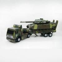 Игровой набор - ВОЕННАЯ ТЕХНИКА (тягач + танк - свет, звук) - под заказ