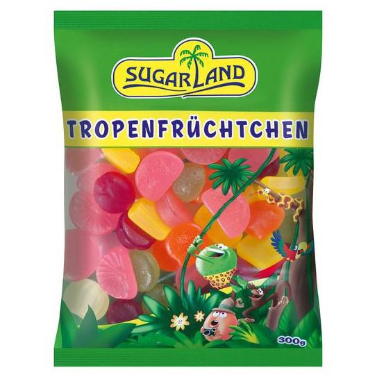 Жевательные конфеты Sugar Land Tropical fruits 300 г