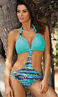 Красивый купальник-монокини M 425 ANABELLA (размер S в расцветках)