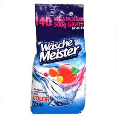 Порошок для стирки Wasche Meister color 140ст 10,5кг, фото 2