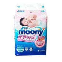 Подгузники Moony для новорожденных M (6-11 кг) RS 62 шт (Муни)