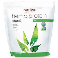 Nutiva, Органический конопляный белок 15 г, 3 фунта (1,36 кг)