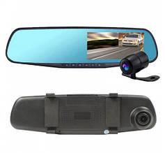 Видеорегистратор-зеркало с двумя камерами DVR 138W VF