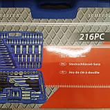 Набір ключів Набір інструментів Scheffler 216 PC Привезені з Німеччини!, фото 4