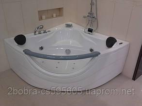 Ванна Угловая АТ-2121 с Гидро-Аэромассажем 1520*1520*710 мм.