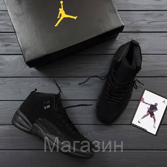 ... cheap prices bad6d 570d2 Баскетбольные кроссовки Nike Air Jordan 12  Retro OVO Black Найк Аир Джордан ... 38b26bb65cb