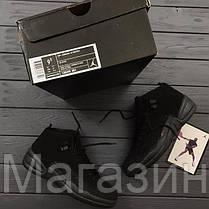 Баскетбольные кроссовки Nike Air Jordan 12 Retro OVO Black Найк Аир Джордан  12 Ретро черные, e689267df71