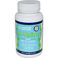 Houston Enzymes, Пептизид протеаза с ДПП-4 и целлюлозой, 90 капсул