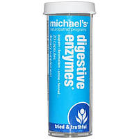 Michaels Naturopathic, Пищеварительные ферменты, 20 капсул