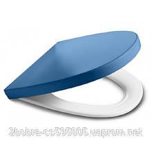 Сиденье для Унитаза Slow-Closing Синяя KHROMA