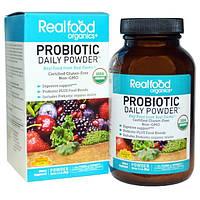 Country Life, Realfood Organics, пробиотики в порошке на каждый день, 3.1 унций (90 г)